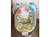 Baby music chair