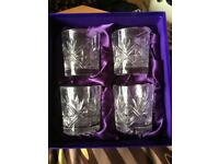 Edinburgh Crystal Whisky Glasses