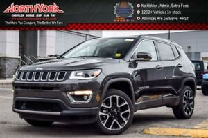 2017 Jeep Compass New Car Limited|4x4|Nav.,Safety&Security,Pkgs|