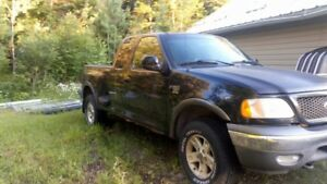 2003 Ford F-150 Extended Cab 4x4 Off Road