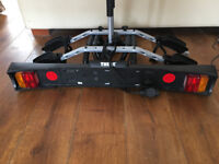 Thule tow bar mount cycle carrier (believed to be 9502) in excellent condition