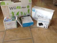 Wii fit plus, games and accessories