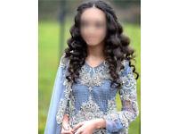 Golu Designer asian wedding lahenga suit