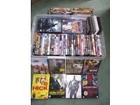 DVD bundle - all like new over 100 titles included