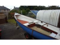 Light weight boat and trailer