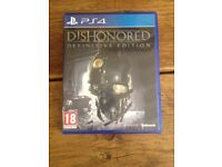 PS4 Dishonored : Definitive Edition