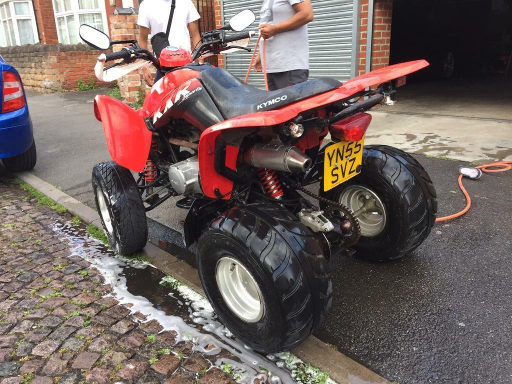 kymco kxr 250 cc automatic quad bike road legal in basford nottinghamshire gumtree. Black Bedroom Furniture Sets. Home Design Ideas