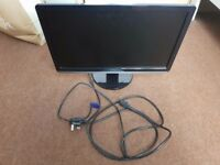21.5 Inch Black Dell Monitor