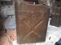 Vintage US Jerry can