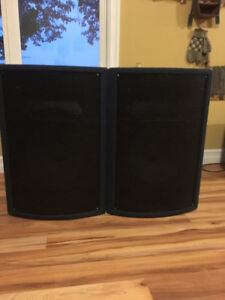 Yorkville Pulse PL315 Passive Speakers.
