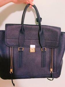 Authentic Phillip Lim 3.1 Pashli Large Navy Blue Bag