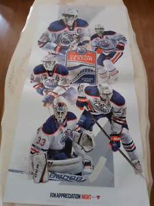 Oilers Poster For Sale