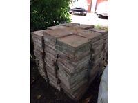 Handmade Quarry Tiles, (185mm x 185mm x 40mm)