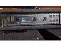 Warrior Audio D1300 disco amplifier