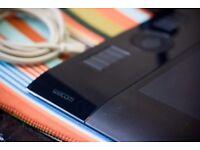 Wacom Intuos4 Medium Graphic Tablet, Black A5 inc Grip Pen USB