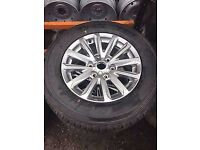 "Mitsubishi L200 Barbarian 17"" Alloy Wheels & Tyres 2017 Unused £495!!!!"