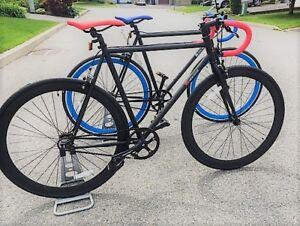 FIXIE *Velo New Gear* fixed gear bike /  Velo Hybride