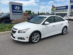 2014 Chevrolet Cruze LTZ LEATHER SUNROOF BACK UP CAM TRADE IN