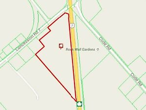 Power Marketing Real Estate: 12 Acre Lot on Highway 7 Perth