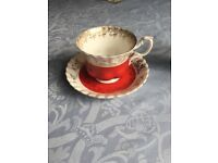 Royal Albert regal series tea cup and saucer set