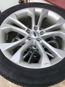 19inch tires with ford rims