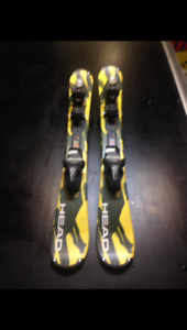 Head snow blades
