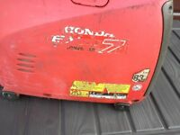 Honda Generator Unit.