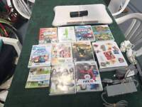 2 wii with 10 games each wii with all accessories