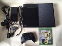 Xbox one, 500gb With 9 great games. Free local delivery
