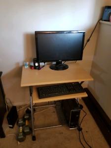 Working desktop computer