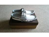 Hudson Maritime Boat Shoes Size 11 UK (New)