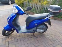 HONDA PES125, BLUE, 2008yr, LOW MILEAGE !!!!, PERFECT TECHNICAL CONDITION!!!