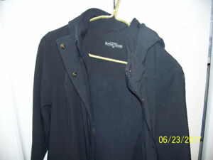 BLACK, NORTHERN REFLECTIONS COAT