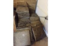 FREE collection - riverstone slabs