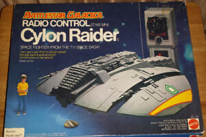Vintage Battlestar Galactica Cylon Raider Remote Control in Box