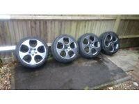 Vw Mk5 GTI 18inch alloy wheel Grey
