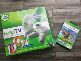 Leapfrog leap tv and paw patrol game