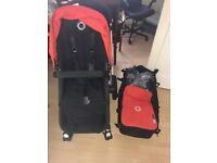 Bugaboo Cameleon 2 Orange interior