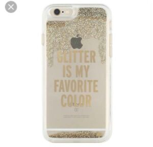 WANTED Kate Spade 5/5s/SE 'glitter is my favorite color' case