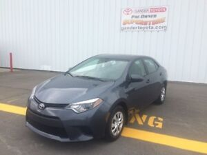 2014 Toyota Corolla CE - Warranty remaining