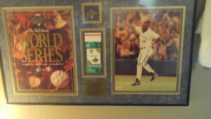 Autographed 2x  Blue Jays World Series Joe Carter Picture 1993
