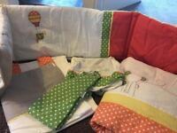 Cot bed set (mamas & papas)