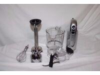 Dualit Stainless Steel Hand Blender. Product code: 88910. Powerful 700 watt motor.