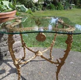 FRENCH STYLE ORMOLU TABLE