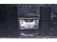 Mini radio and CD player