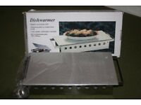Stylish Dishwarmer/Hotplate - NEW