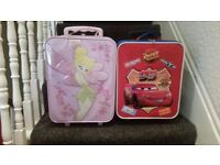 Disney Cars Boys Kids Luggage Suitcase Trolley Wheeled Bag
