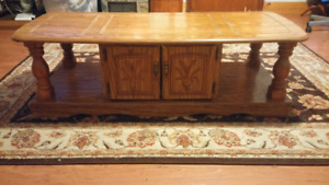 Wooden  coffee table for sale