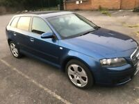 Audi A3 S3 Clean car. MOT untill july 2018