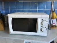 Morrisons manual microwave oven